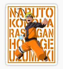 Naruto Logo Sticker