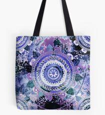 Hyazinthen-Mandala Tote Bag