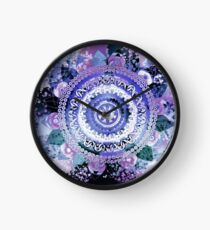 Hyacinth Mandala Clock