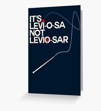 Levi-o-sa Greeting Card