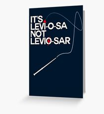 Levi-o-sa Greeting Card