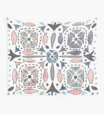 Mediterranean Tiles Wall Tapestry