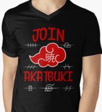 Join Akatsuki v4 Men's V-Neck T-Shirt