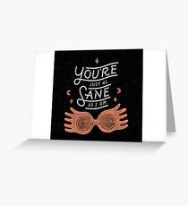 Luna Potter Greeting Card