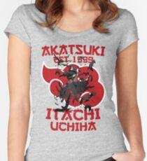 Itachi Uchiha Akatsuki Women's Fitted Scoop T-Shirt