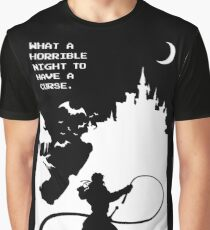 What a Horrible Night to Have a Curse Graphic T-Shirt