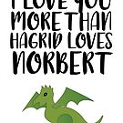 More Than Hagrid Love Norbert by FairyNerdy