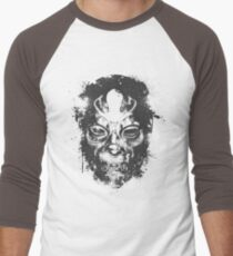 Death Eater Mask Men's Baseball ¾ T-Shirt