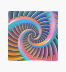 Opposing Spiral Pattern in 3-D Scarf