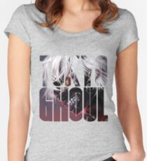 Tokyo Ghoul Logo v3  Women's Fitted Scoop T-Shirt