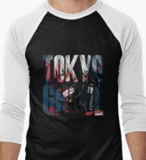 Tokyo Ghoul Logo v4 Men's Baseball ¾ T-Shirt
