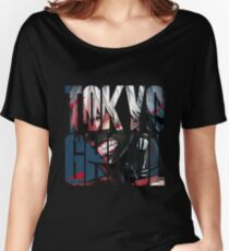Tokyo Ghoul Logo v4 Women's Relaxed Fit T-Shirt