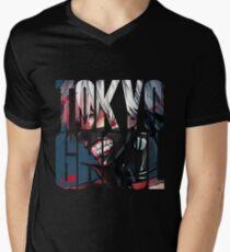 Tokyo Ghoul Logo v4 Men's V-Neck T-Shirt
