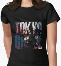 Tokyo Ghoul Logo v4 Women's Fitted T-Shirt