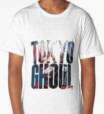 Tokyo Ghoul Logo v4 Long T-Shirt
