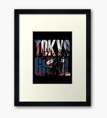 Tokyo Ghoul Logo v4 Framed Print