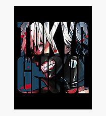 Tokyo Ghoul Logo v4 Photographic Print