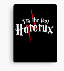 The Last Horcrux Canvas Print