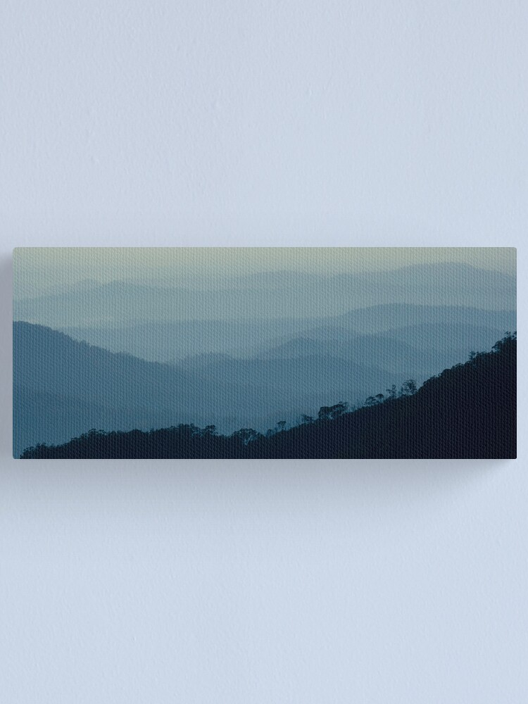 Alternate view of Early Morning - Gibraltar Ranges Canvas Print