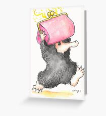 Niffler Greeting Card