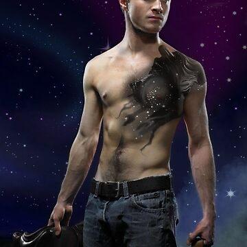 Daniel Radcliffe Dementor Tattoo Design by ArkainStudios