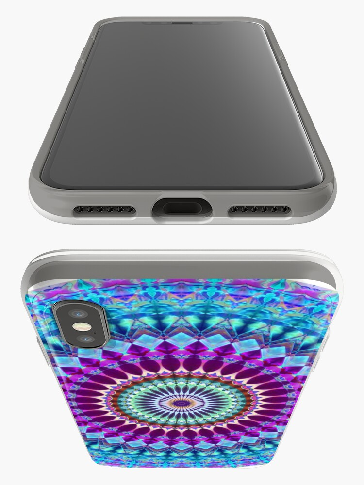 Alternate view of Geometric Mandala iPhone Case & Cover