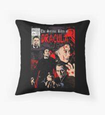 The Satanic Rites of Dracula Throw Pillow