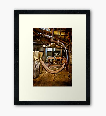 """Day's End on the Board"" Framed Print"
