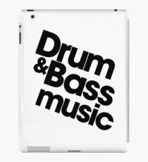 Drum & Bass iPad Case/Skin