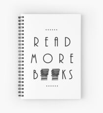 Read More Books Spiral Notebook
