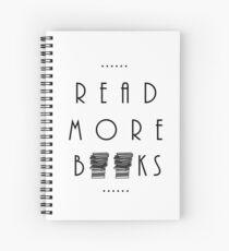 Cuaderno de espiral Lee más libros