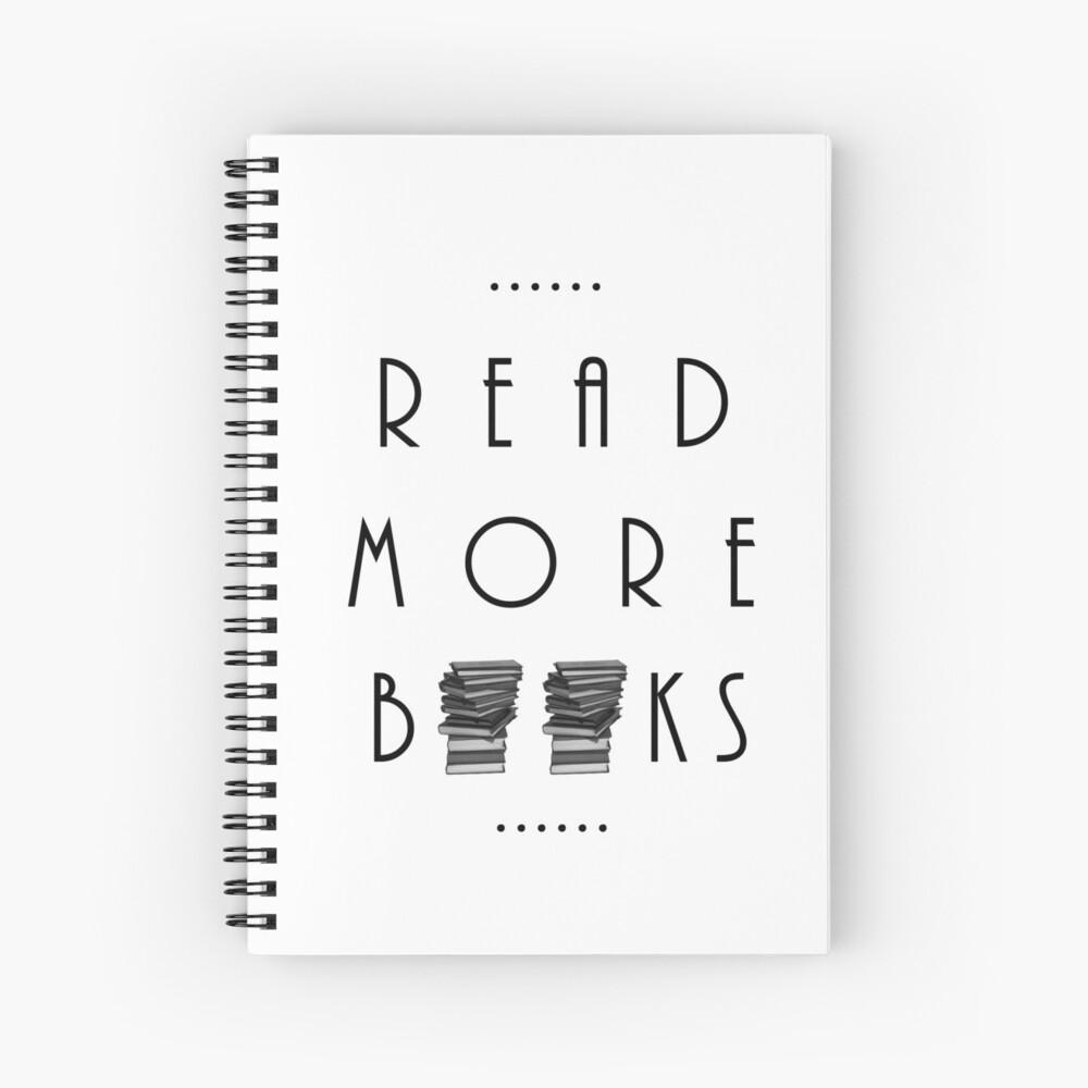Lies mehr Bücher Spiralblock