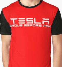 TESLA Remove Before Flight Graphic T-Shirt