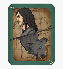 Sirius Playing Card Photographic Print