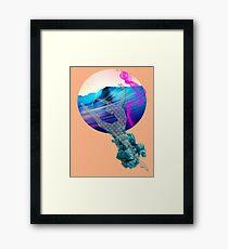 Knit  foam Ballerina Framed Print