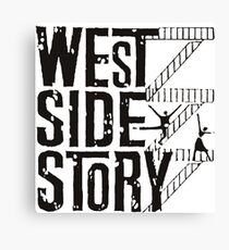 West Side Story logo Canvas Print