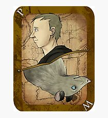 Peter Playing Card Photographic Print