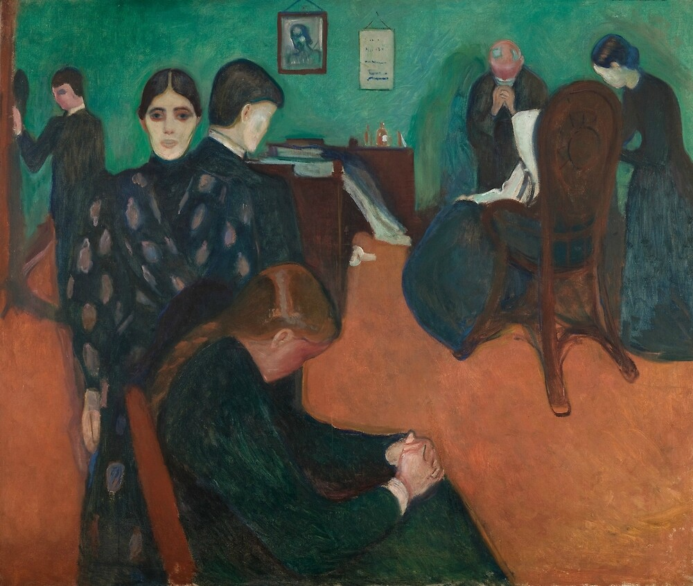 """""""Death in the Sickroom by Edvard Munch"""" by classicartcache ..."""