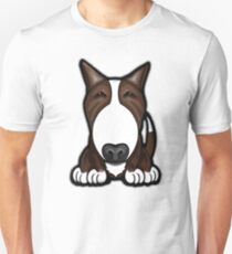 Brown Patch English Bull Terrier Unisex T-Shirt