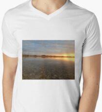 Sunrise at autumn lake T-Shirt