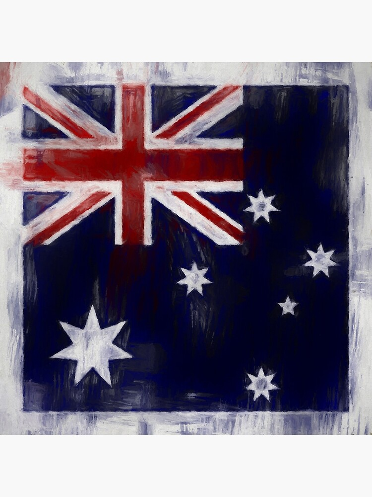 Australia Flag No. 2, Series 2 by 8th-and-f