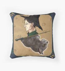 Minerva Playing Card Throw Pillow
