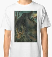Hungarian horntail - With text version Classic T-Shirt