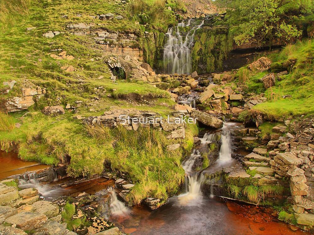 Swinner gill Waterfall by Stewart Laker