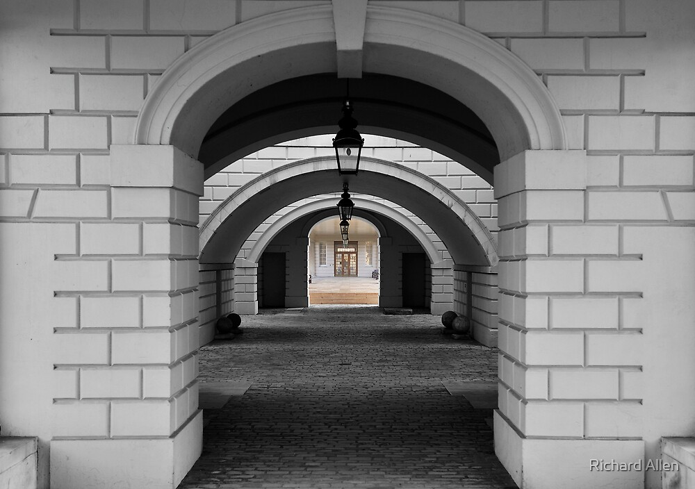 Colonnade B&W by Lea Valley Photographic