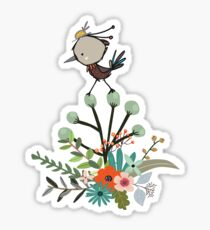 Alice Bird | Illustration 02 | Whimsical Sticker