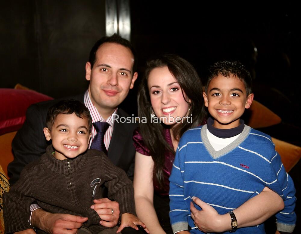 Kathryn & Daniel, Mathew,Michael by Rosina lamberti