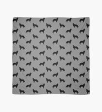 Flat Coated Retriever Silhouette(s) Scarf