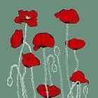 Poppies by Danelle Malan