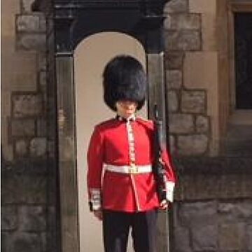 Guard at Windsor Castle by A5-TheGlue